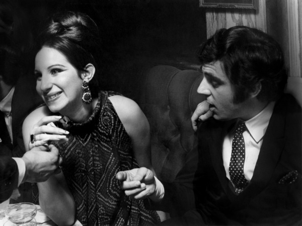 "Barbra Streisand and Anthony Newley at the closing night party for ""Funny Girl"" in LondonJuly 17, 1966** B.D.M. - Image 24293_1230"