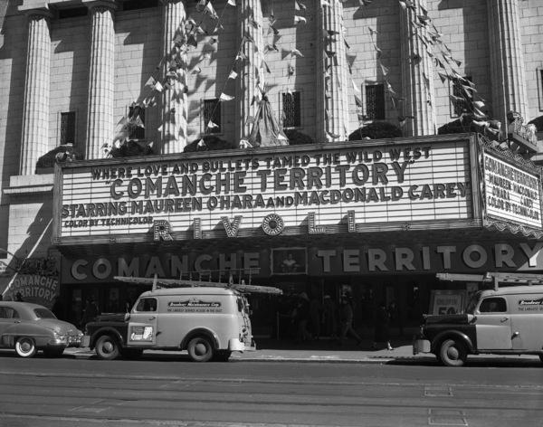 Marquee of the Rivoli theatre in New York1951** B.D.M. - Image 24293_1302