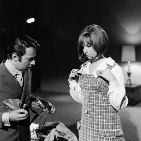 "Arnold Scaasi and Barbra Streisand during a costume fitting for ""On a Clear Day You Can See Forever""1970 Paramount** B.D.M. - Image 24293_1352"