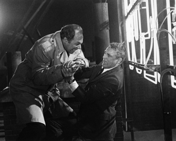 "George Kennedy and Cary Grant in ""Charade""1963 Universal** B.D.M. - Image 24293_1627"
