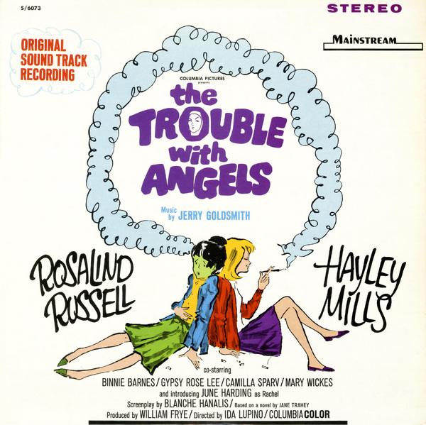 "LP cover for the soundtrack of ""The Trouble with Angels"" by Jerry GoldsmithMainstream Records1966** B.D.M. - Image 24293_1682"