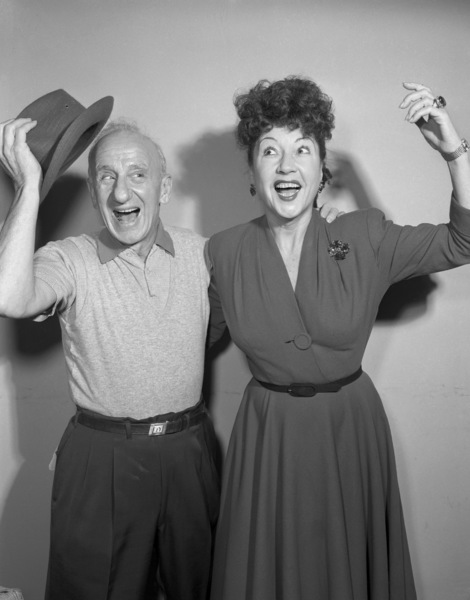"Jimmy Durante and Ethel Merman on ""The Colgate Comedy Hour""December 6, 1953Photo by Herb Ball** B.D.M. - Image 24293_1832"