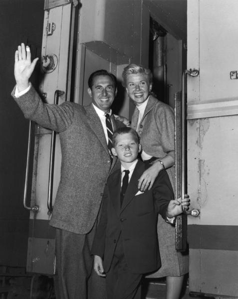 Marty Melcher, Doris Day and their son Terry Melchercirca 1954** B.D.M. - Image 24293_1837