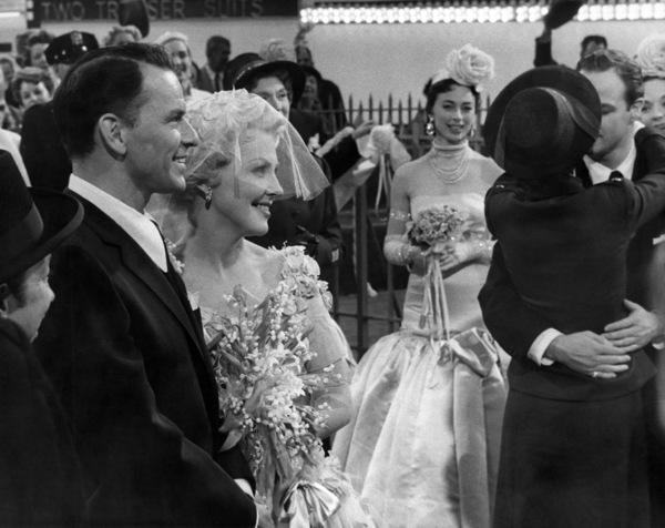 "Frank Sinatra, Vivian Blaine, Jean Simmons and Marlon Brando in ""Guys and Dolls""1955 MGM / Samuel Goldwyn** B.D.M. - Image 24293_1887"
