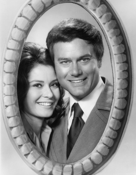 "Diane Baker and Larry Hagman in ""Here We Go Again""1973** B.D.M. - Image 24293_1899"