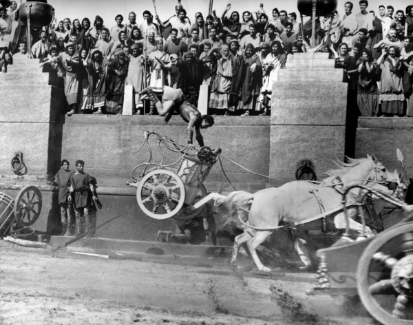"The Chariot Race from ""Ben-Hur""1959 MGM** B.D.M. - Image 24293_2073"