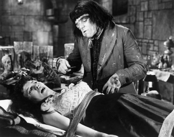 "Barbara Burke and Victor Maddern in ""Blood of the Vampire""1958 Universal** B.D.M. - Image 24293_2076"