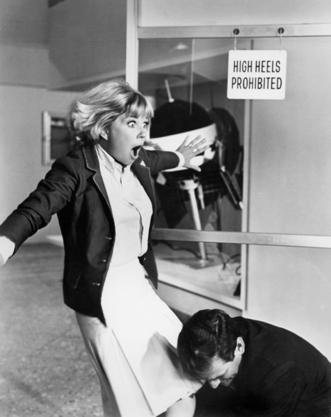 "Doris Day and Rod Taylor in ""The Glass Bottom Boat""1966 MGM** B.D.M. - Image 24293_2126"