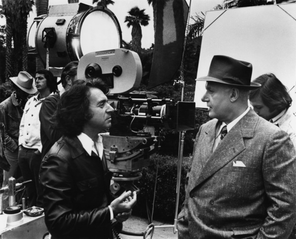 "Arthur Hiller and Rod Steiger on the set of ""W.C. Fields and Me""1976 Universal** B.D.M. - Image 24293_2385"