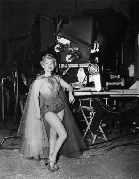 "Zsa Zsa Gabor on the set of ""3 Ring Circus"" photographed in Vista Vision1954 Paramount** B.D.M. - Image 24293_2500"