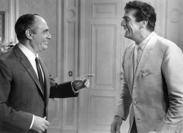 """Martin Balsam and Victor Mature in """"After the Fox""""1966 United Artists** B.D.M. - Image 24293_2534"""