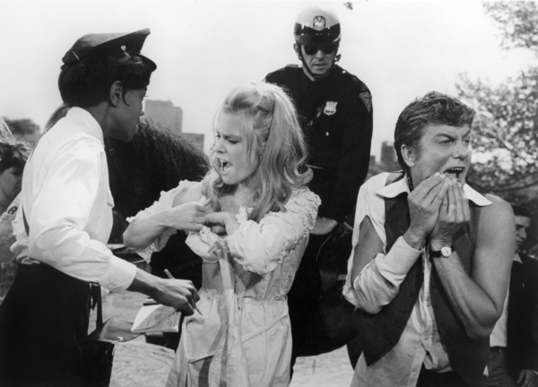 """Beverly Todd, Rosemary Forsyth and Dick Van Dyke in """"Some Kind of a Nut""""1969 United Artists** B.D.M. - Image 24293_2570"""