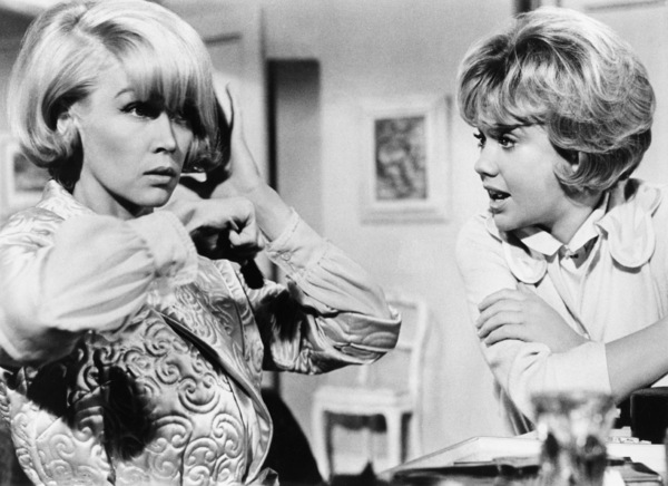 """Dorothy Provine and Hayley Mills in """"That Darn Cat""""1965 Buena Vista** B.D.M. - Image 24293_2612"""