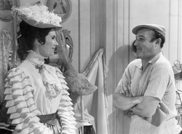 """Marianne McAndrew and director Gene Kelly on the set of """"Hello, Dolly!""""1969 20th Century-Fox** B.D.M. - Image 24293_2631"""