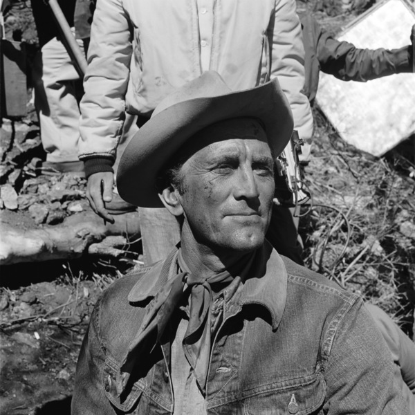 "Kirk Douglas on the set of ""Lonely Are the Brave""1962 Universal** B.D.M. - Image 24293_2660"