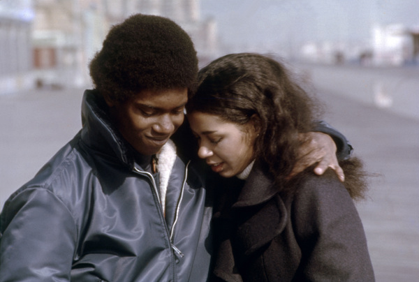 """Kevin Hooks and Irene Cara in """"Aaron Loves Angela""""1975 Columbia** B.D.M. - Image 24293_2663"""