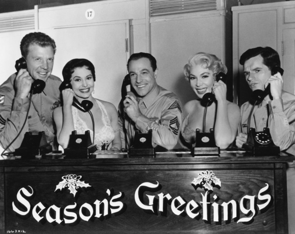 "Dan Dailey, Cyd Charisse, Gene Kelly, Dolores Gray and Michael Kidd in ""It"