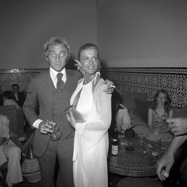 """Marty Feldman and Ann-Margret at a party promoting """"The Last Remake of Beau Geste""""1977 Universal** B.D.M. - Image 24293_2898"""