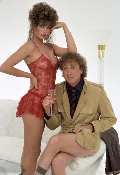 Kelly LeBrock and Gene Wilder1984© 1984 Mario Casilli - Image 24297_0010