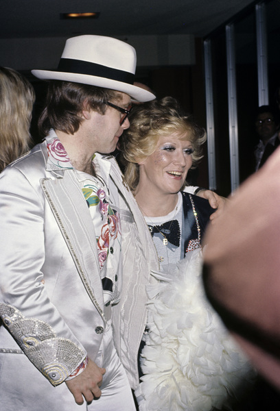 Elton John and Dusty Springfieldcirca early 1980s© 1980 Gary Lewis - Image 24300_0018
