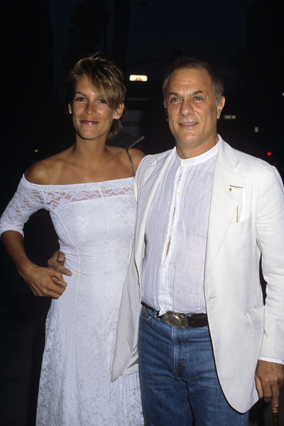 Jamie Lee Curtis with father Tony Curtis1984© 1984 Gary Lewis - Image 24300_0465