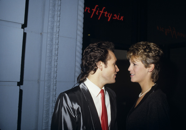 Jamie Lee Curtis and Adam Antcirca 1980s© 1983 Gary Lewis - Image 24300_0469