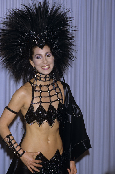 "Cher at ""The 58th Annual Academy Awards""1986© 1986 Gary Lewis - Image 24300_0485"