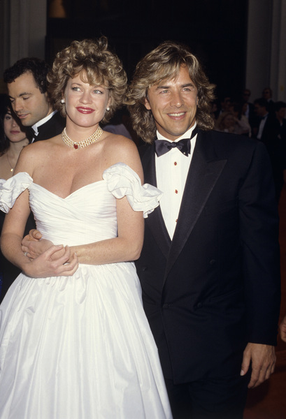 61st Annual Academy AwardsMelanie Griffith and Don JohnsonMarch 29, 1989© 1989 Gary Lewis - Image 24300_0521