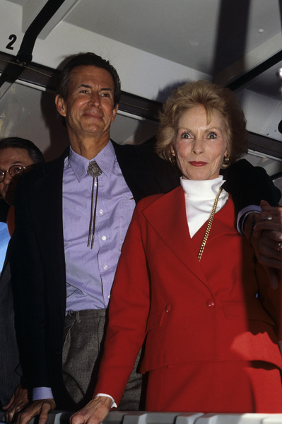 Anthony Perkins and Janet Leigh1987© 1987 Gary Lewis - Image 24300_0564