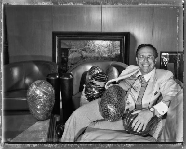 Warner LeRoy in his New York City office1997© 1997 Ken Shung - Image 24302_0042