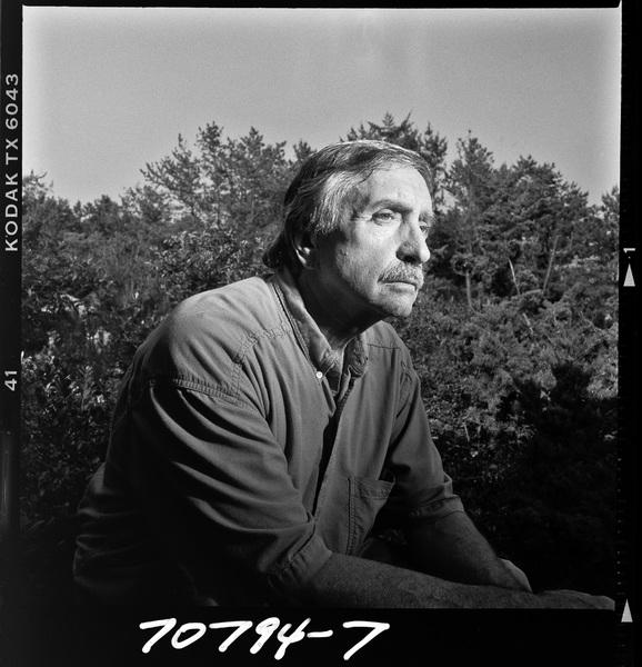 Edward Albee photographed in Montauk, New York1994© 1994 Ken Shung - Image 24302_0071