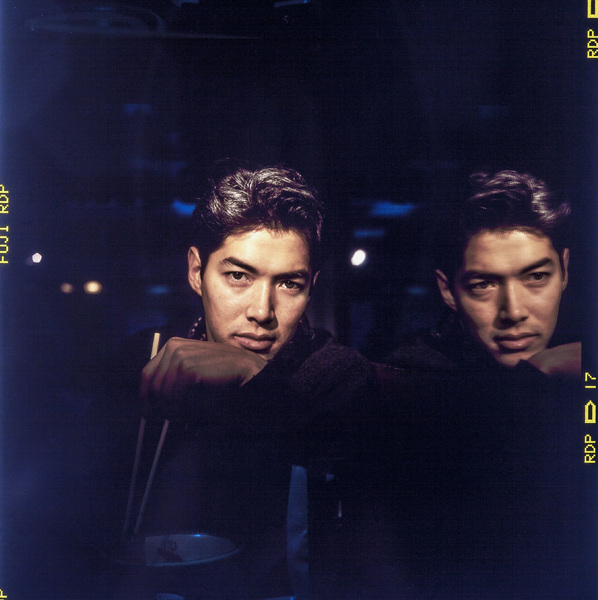 Russell Wong photographed at the Joy Luck Restaurant in New York City