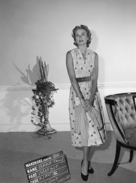 "Grace Kelly wardrobe test for ""Dial M for Murder""1954** I.V. - Image 24322_0079"