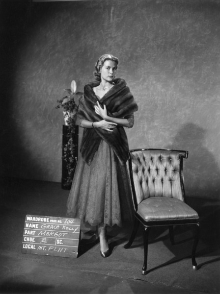 "Grace Kelly wardrobe test for ""Dial M for Murder""1954** I.V. - Image 24322_0086"