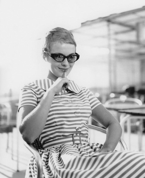 """Jean Seberg in """"Breathless""""1960** I.V. - Image 24322_0129"""