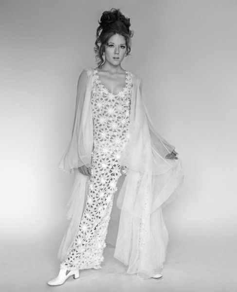 """Diana Rigg in """"On Her Majesty"""