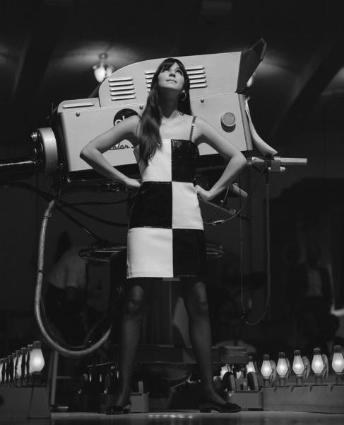 "Cher Bono on the television variety show ""Hollywood Palace""circa 1965** I.V. - Image 24322_0148"