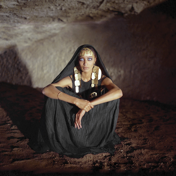 """Donyale Luna in """"Fellini Satyricon""""1969** I.V. - Image 24322_0152"""