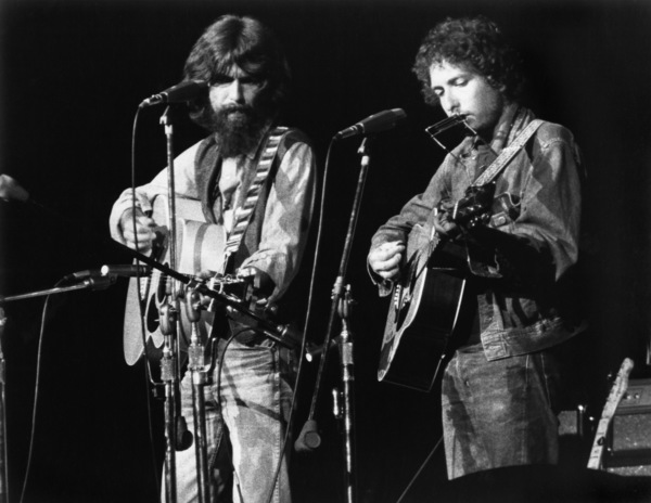 George Harrison and Bob Dylancirca 1970** I.V.M. - Image 24322_0195