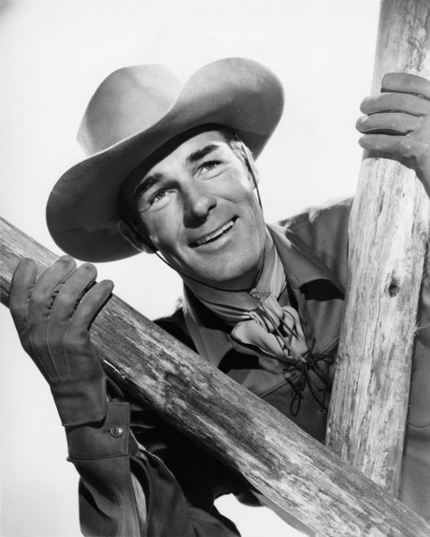 """Randolph Scott in """"Gunfighters""""1947 Columbia Pictures© 1978 Ned Scott Archive - Image 24327_0020"""