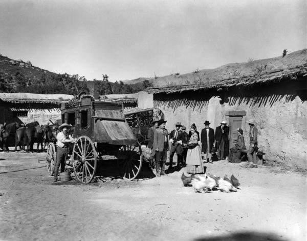 """Stagecoach""Andy Devine, John Wayne1939© 1978 Ned Scott Archive - Image 24327_0092"