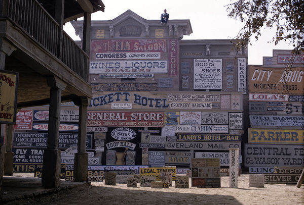 """Rawhide"" (signs used in episodes)1964© 1978 Richard R. Hewett - Image 24328_0005"