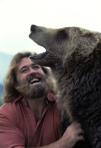 """""""The Life and Times of Grizzly Adams""""Dan Haggerty1977© 1978 Richard R. Hewett - Image 24328_0087"""