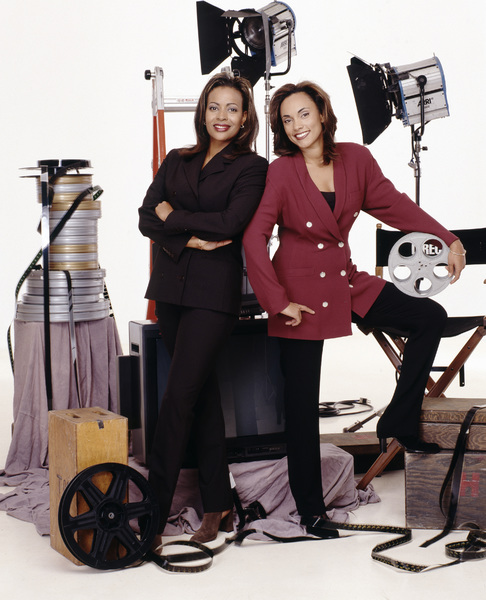 Kim Greene and Camille Tucker1996© 1996 Bobby Holland - Image 24331_0130