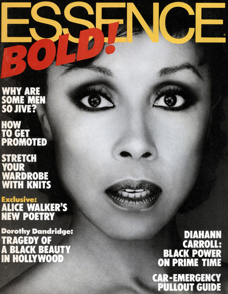 Essence Magazine cover featuring Bobby Holland