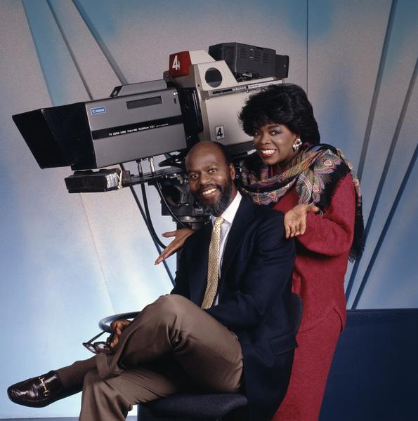 Rueben Cannon and Oprah Winfrey circa 1980s© 1980 Bobby Holland - Image 24331_0262