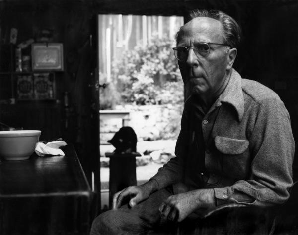 Photographer Edward Weston at his Carmel, California home1948© 1978 Wynn Hammer - Image 24344_0012