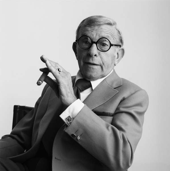 George Burns1985© 1985 Daniel Lamb - Image 24348_0060