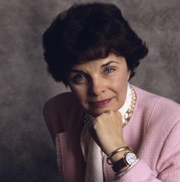 Dianne Feinstein1987© 1987 Dana Gluckstein - Image 24349_0101