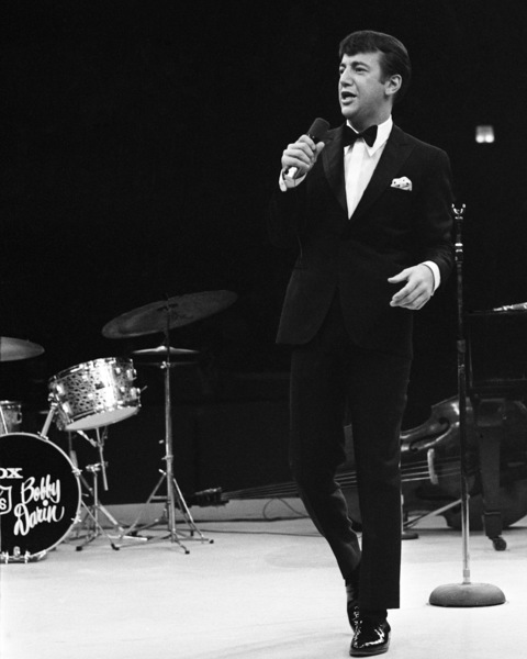 Bobby Darin performing at Westbury Music Fair in New York1967© 1978 Barry Kramer - Image 24354_0096